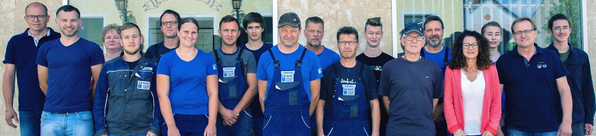 Team Mitarbeiter Firma Isaak